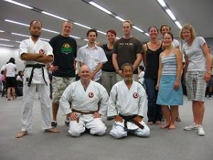 JETプログラムでの空手講習会2007