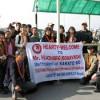 日本ネパール国交樹立50周年:武道交流会その1