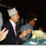 ネパールのサヨナラパーティ