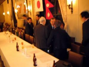 日本・ネパール国交樹立50周年記念協力会 発会式
