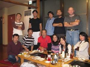 先生の誕生日会 2009年