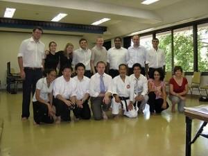 JETプログラムでの空手講習会2008