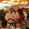 青年国際交流機構で空手講習会